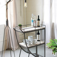 Quarter Lune Bar Cart