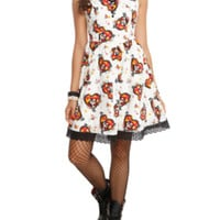 The Book Of Life La Muerte All Over Print Dress