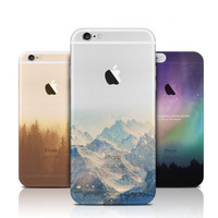 Ultra Thin Soft Silicon Fashion Transparent Back for iphone 6s Case Plus Cover