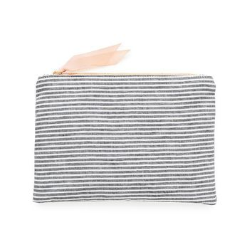 Fabric Pouch - Faded Stripe