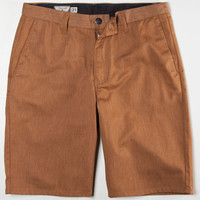 Volcom Frickin Modern Mens Chino Shorts Hazel  In Sizes