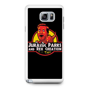 Jurassic Parks And Rex Creation Samsung Galaxy Note 5 Galaxy Note Edge Galaxy Note 4 Galaxy Note 3 Case