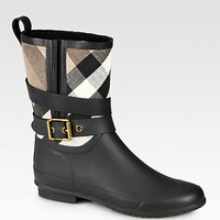 Holloway Canvas Rain Boots - Zoom - Saks Fifth Avenue Mobile