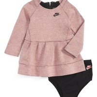 Nike Tech Pack Fleece Dress (Baby Girls) | Nordstrom