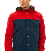 Obey The Hunter Reversible Jacket in Red and Navy : Karmaloop.com - Global Concrete Culture