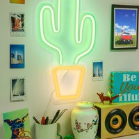 "Merkury Innovations | Cactus 18"" LED Wall Sign 
