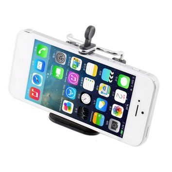 1pc Universal Mobile Cell Phone Camera Stand Clip Holder mount Bracket Adapter Tripod For iPhone For Sumsung For HTC For Phone