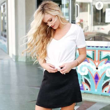 No Limits Skirt in Black