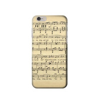 P7140 Vintage Music Sheet Phone Case For IPHONE 6 PLUS