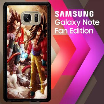 Goku Vegeta Super Saiyan L1575 Samsung Galaxy Note FE Fan Edition Case