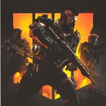 Call of Duty Black Ops 4 Soldiers Poster 22x34