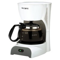 Mr. Coffee® 4-Cup Switch Coffeemaker - White