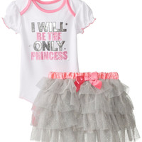 Baby Infant Girls Princess 2 Pc Tutu Skirt Set