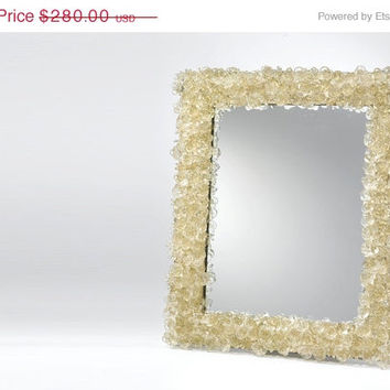 ON SALE Decorative wall mirror with polyester by yehudalight