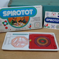 1974 Spirotot by Kenner • Creative Drawing Toy for Young Children •  Vintage Spirograph for Little Kids • Make Groovy Animals and Faces