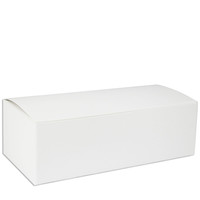 White 1 LB Candy Boxes