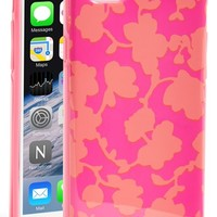 kate spade new york 'graphic floral' iPhone 6 hard shell case