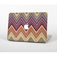 The Vintage Colored V3 Chevron Pattern Skin Set for the Apple MacBook Pro 15""
