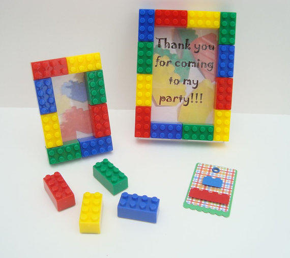 Lego themed birthday party favor treat bags set of 30 by miamimere