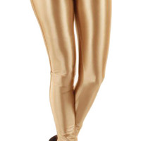 Gold Shiny Disco Pants Design 623