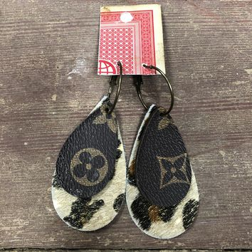 Cheetah Lv earrings
