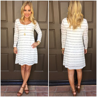 Stripe to Perfection Knit Dress