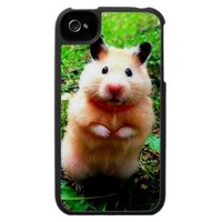 Cute Hamster Iphone 4/4s Case from Zazzle.com