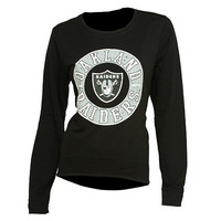 Oakland Raiders Home Field Long Sleeve Crew Neck