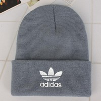 Adidas Fashion Edgy Winter Beanies Knit Hat Cap-9