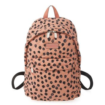 CROSBY QUILT NYLON DEE-LITE DOT BACKPACK