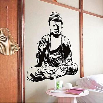New Design Buddha's Mural Wall Decal Removable Vinyl Sticker For Home Decor
