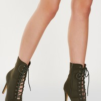 Socialite Lace Up Boots