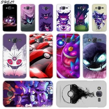 Sheli s Gengar Sinister Transparent Hard Phone Case for Samsung Galaxy  J1 J2 J3 J4 J5 J6 J7 J8 2015 2016 2017 2018 J7 PrKawaii Pokemon go  AT_89_9