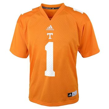adidas Tennessee Volunteers Replica Ncaa Football Jersey - Boys 8-20, Size: