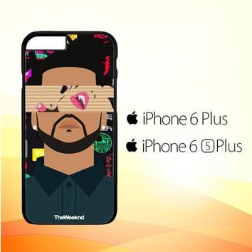 the weeknd xo WALLPAPER Y0841 iPhone 6 Plus|6S Plus Case