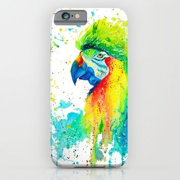 parrot iPhone & iPod Case by Vlad&Lyubov