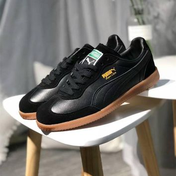"""Puma Suede Classic v2"" Men Fashion Retro Plate Shoes Casual Sneakers"