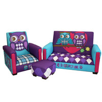 Komfy Kings, Inc 97092 Newco Kids Owl Love You Forever Toddler Three Piece Set