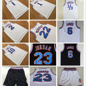 Space Jam Tune Squad Looney Tunes 1 Bugs Bunny Jersey 2 Daffy Duck 10 Lola Bunny ! TAZ TWEETY 22 Bill Murray Basketball Jerseys