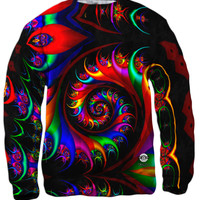 Trippy Rainbow Spirals