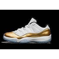 "Air Jordan 11 Low ""Gold"""