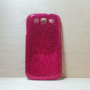 Glitter Case for Samsung Galaxy S3 - Rose Pink