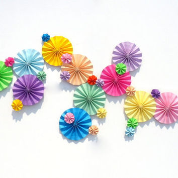Custom Pinwheels Spring Summer Colors