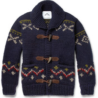 Ovadia & Sons Patterned Chunky-Knit Wool Sweater | MR PORTER