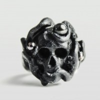 Octopus Ring - Black | NOT JUST A LABEL