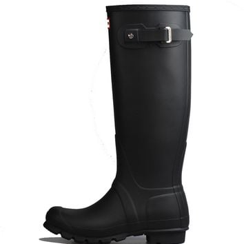 Hunter Original Tall Rain Boot Black