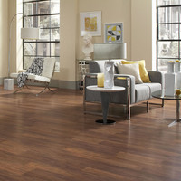 Shop Style Selections 8.05-in W x 3.97-ft L Natural Walnut Smooth Laminate Wood Planks at Lowes.com