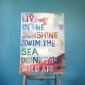 Wild Air large 28 x 20 canvas print by maechevrette on Etsy