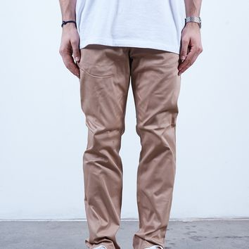 Almond | Chino Slim Fit