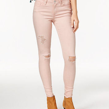 American Rag Ripped Mellow Rose Wash Skinny Jeans, Only at Macy's | macys.com